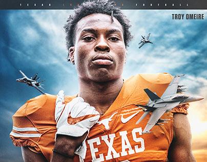 2019-2020 Texas Football Recruiting Graphics