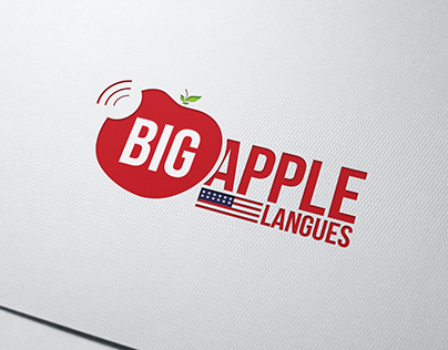 Logo - BIG APPLE LANGUES