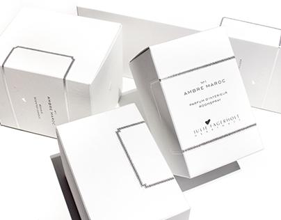 Julie Fagerholt Heartmade Fragrance Packaging
