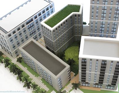 Paper-Craft Architecture Model