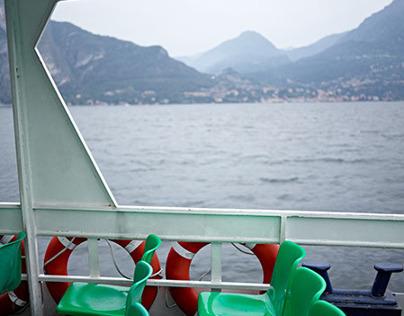 Ferry - Lake Como, Varenna, Italy
