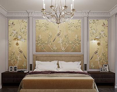 Visualisation bedroom.