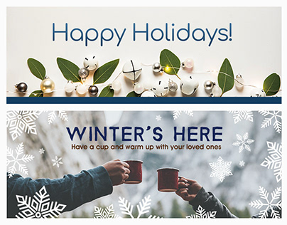 Holiday Email Banners