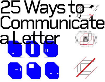 25 Ways to Communicate a Letter