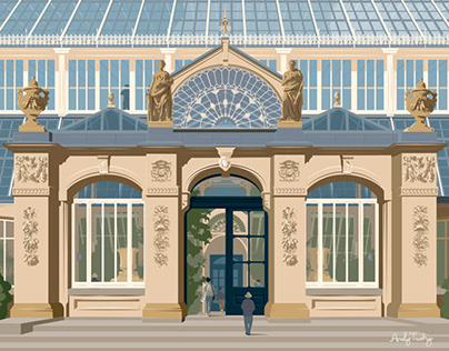 The Temperate House for the Royal Botanic Gardens, Kew.