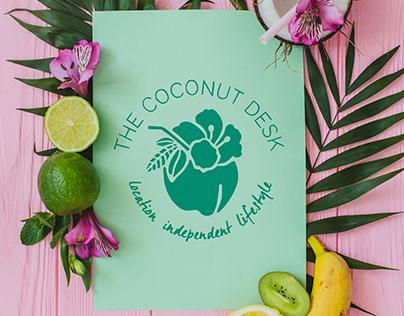 The Coconut Desk | Branding | Web Design