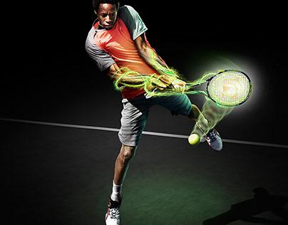 wilson sport - tennis   Retouch