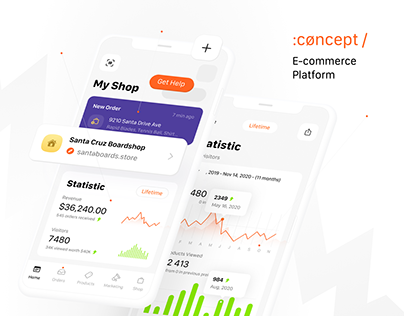 E-Commerce Platform, Concept