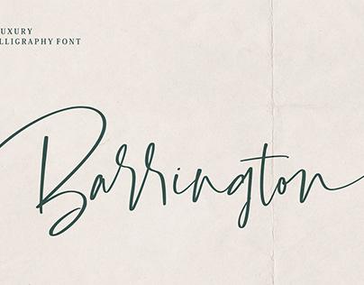 Barrington Font