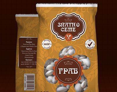 """Zlatno Seme"" - Package Design"
