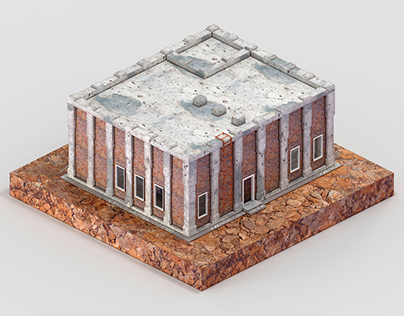 House ( Isometric 3D Model )