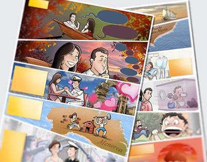 Cómics Personalizados (muestra)