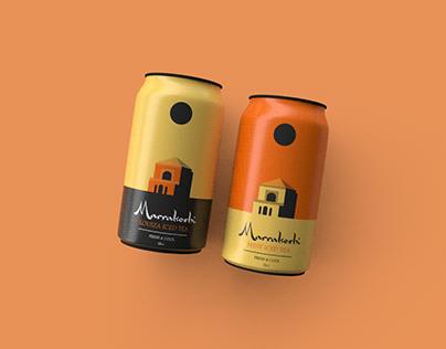 Marrakeshi Mint/Louiza Iced Tea (Moroccan Tea design)