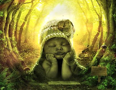 fantastic baby manuplation art direction
