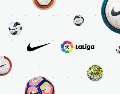 Nike - LaLiga Ball Hub - Website
