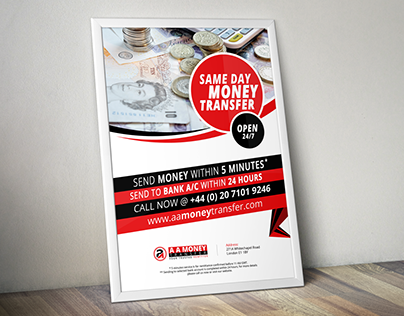 Flyer and Outdoor ad design