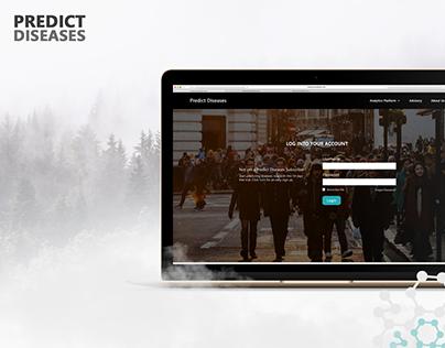 Predict Diseases - Dashboard Design