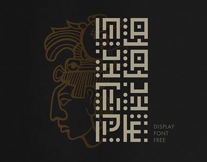 Maya Glyphs | Free Typeface