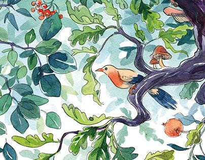 Neverland Forest wallpaper