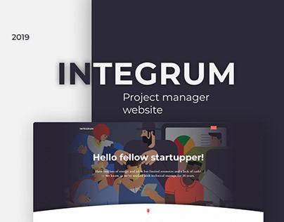 """Designe Website """"Project manager"""""""