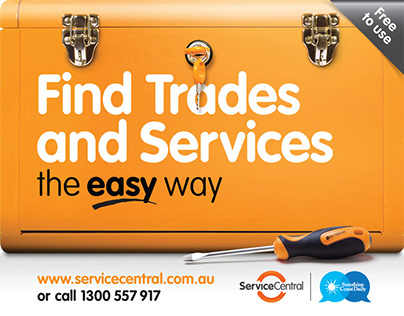 Service Central – Advertising Campaign