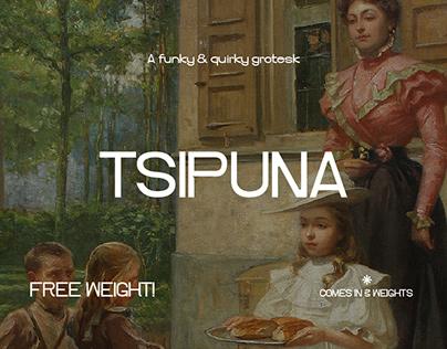 Tsipuna / Grotesk Typeface