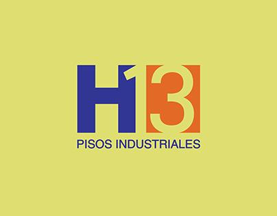diseño de logo h13