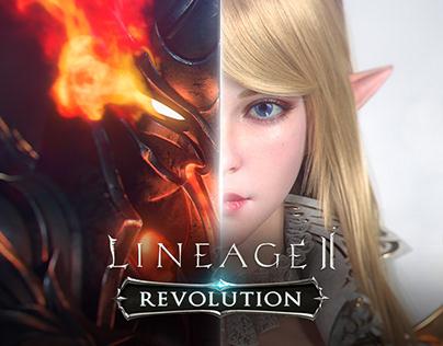 Lineage 2: Revolution - Key art