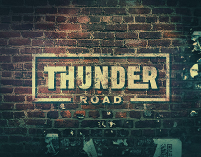 Thunder Road Pictures - Logo Design