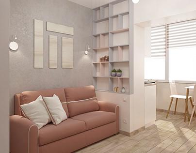 Apartment 21 sqm