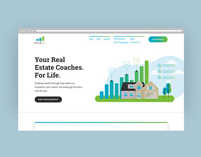 Mile27 Branding and Website