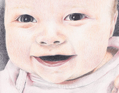 Colored Pencil Portrait - Miss Mary
