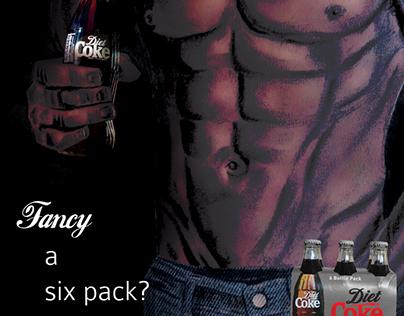 IDEAS: Diet Coke. (mock up)
