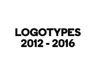 Logotypes 2012 - 2016
