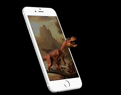 4D+ Pop Up Encyclopedia Dinosaur Series