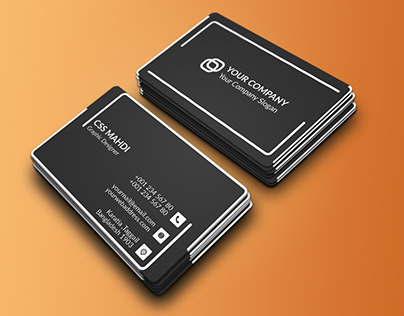 simple corporate business card for you :)