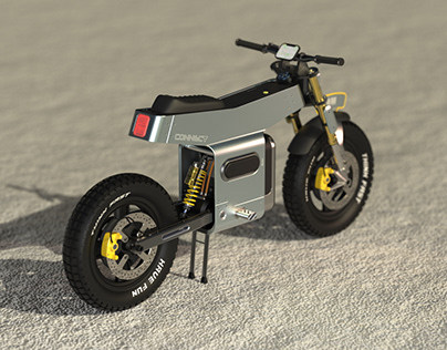CONNECT - An Electric Motorcycle With a Twist