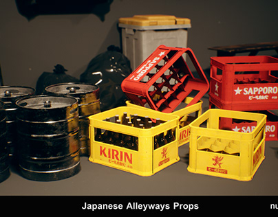 Japanese Alleyways - Props