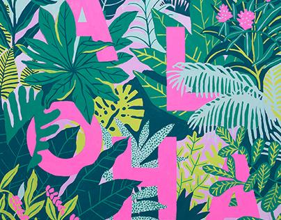 New Paintings for Mori Hawaii