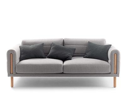 Abric sofa // BOSC
