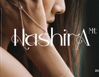 Hashira Mt - Free Typeface