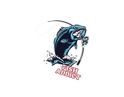 Modern Fish Logo Design