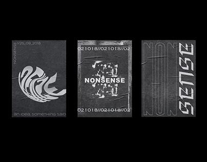 Nonsense Vol. 1 — Poster Series