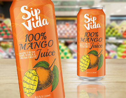 Juice Can Packaging - USA