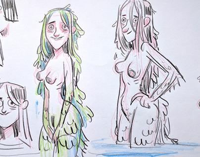 Nayades Sketches