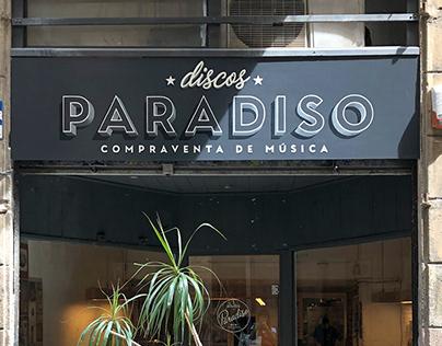 Rótulo para Discos Paradiso