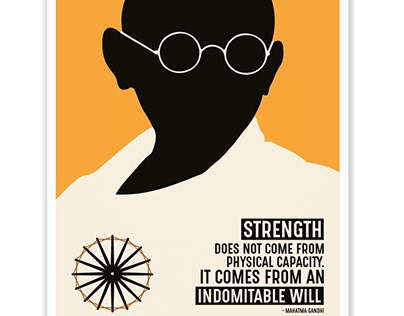 Strength Does Not Come From Physical Capacity Poster