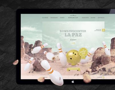 Web Design: Bowling Center La Paz Germany