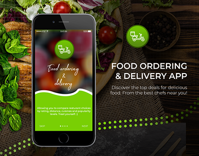 Food ordering and delivery app