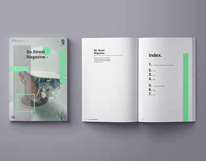 'Be.Street Magazine' I Editorial Design